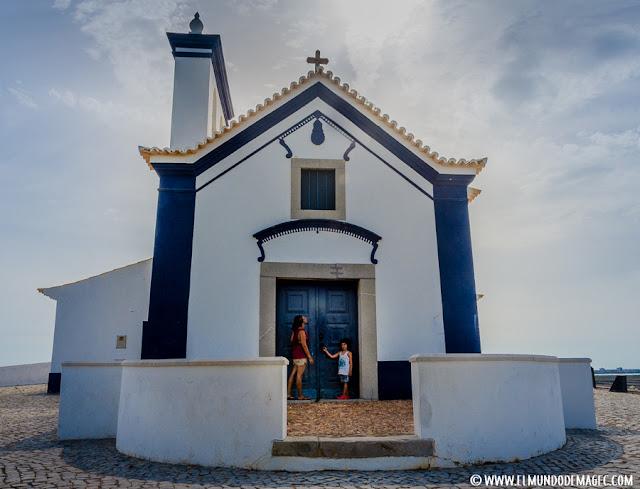 Castillos-de-Portugal, capilla del Revellin de San Antonio