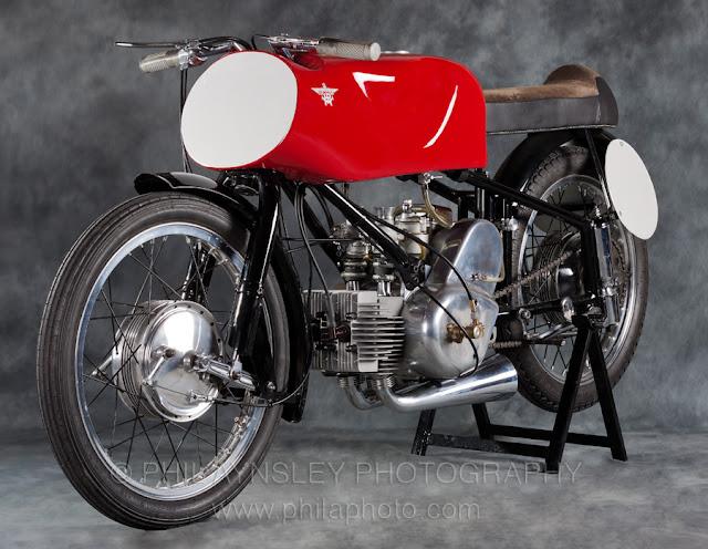 """1952 Moto Rumi 125 Gobbetto """"Hunchback"""""""