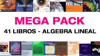 Mega pack 41 libros de algebra lineal pdf