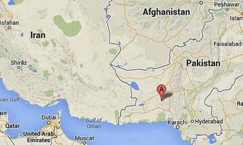 Awaran_Pakistan_earthquake_epicenter_map
