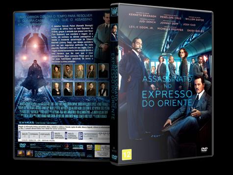 Capa DVD Assassinato no Expresso do Oriente