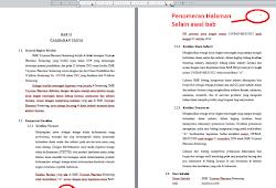 Cara Membuat Nomor Halaman Di Word Untuk Skripsi Berbeda Letak Dan Format Panduan Ms Office