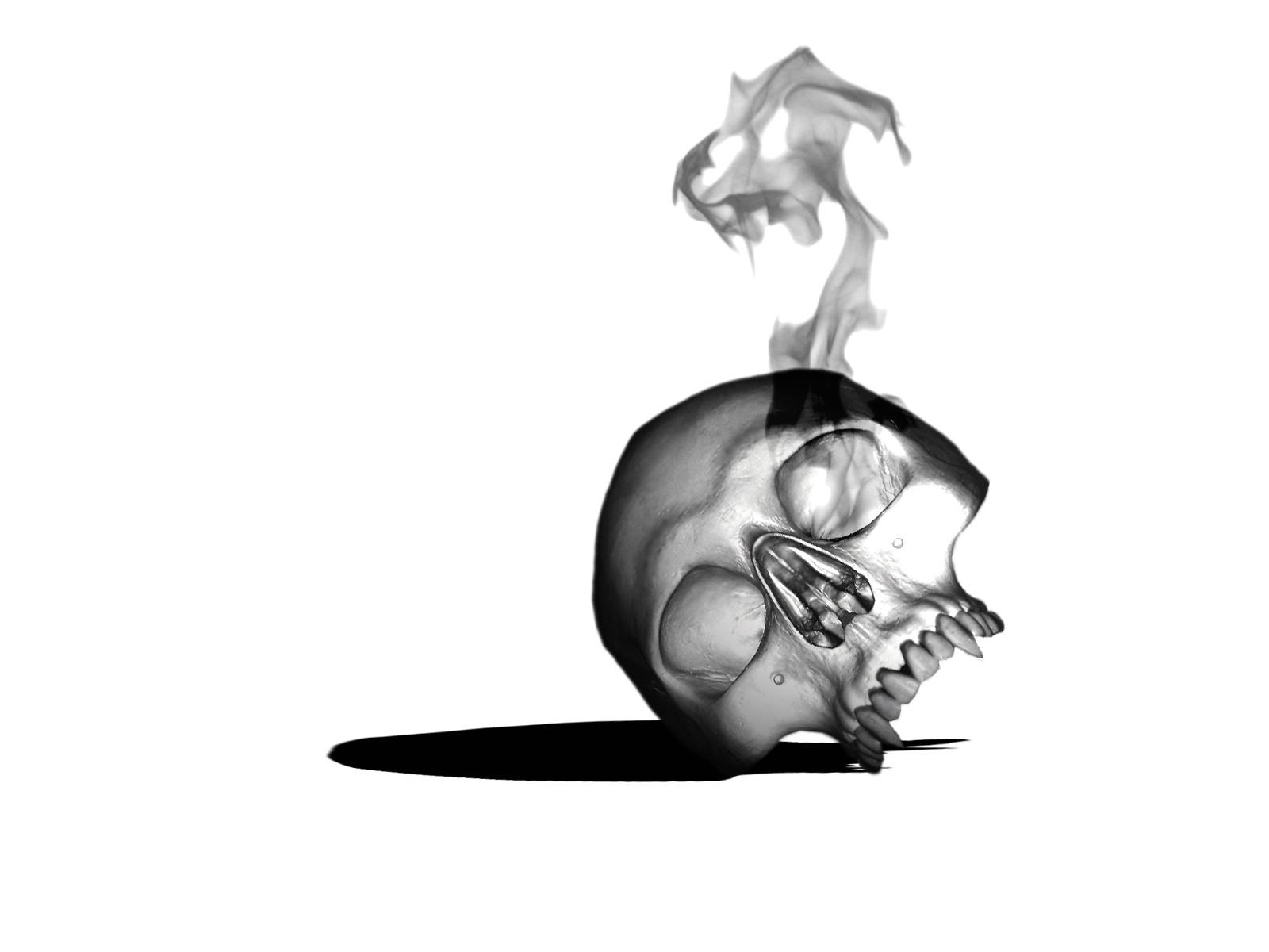 wallpaper skull hd ~ guitar