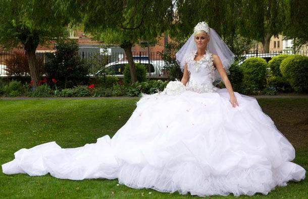 Big Fat Gypsy Wedding Dresses Designs