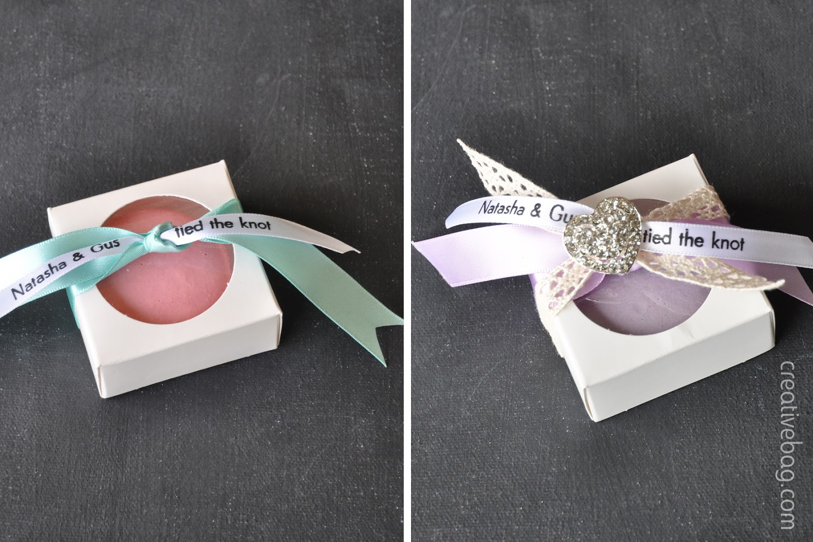 Fantastic the creative bag blog: Macaron favor packaging inspiration using  MU18