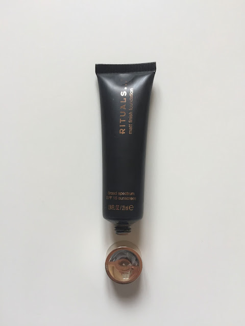 Rituals matt finish foundation