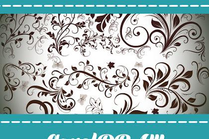 Ornamen Batik Untuk Coreldraw