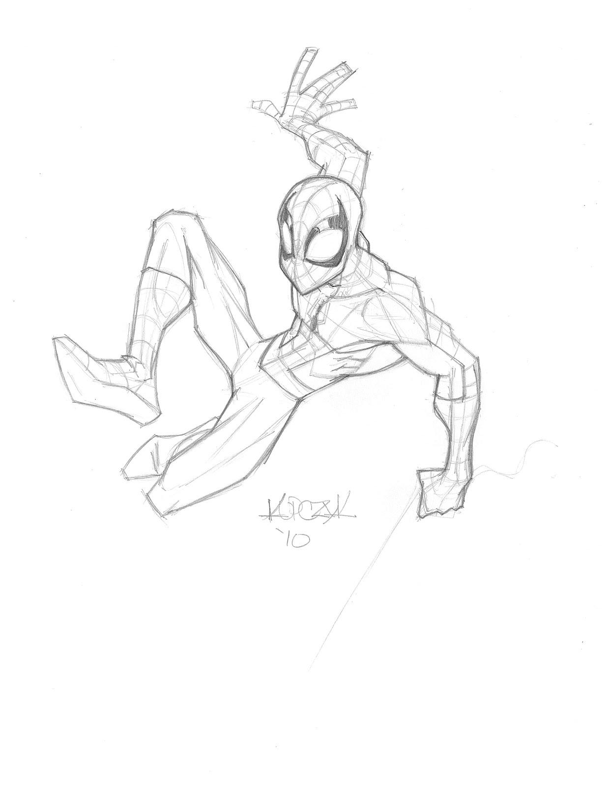 Dave's blog: Ultimate Spiderman version 1