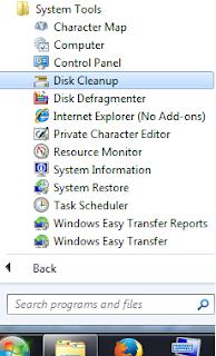"""Jalankan """"Disk Cleanup"""" dan """"Defragment"""""""