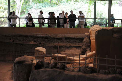 El Salvador's 'Pompeii' in need of help, UNESCO chief visits
