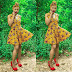 Aso Ebi Dabonke Styles: Beautiful Ankara Short Gown