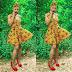 Aso Ebi Dabonke Styles: Beautiful Ankara Short Gown