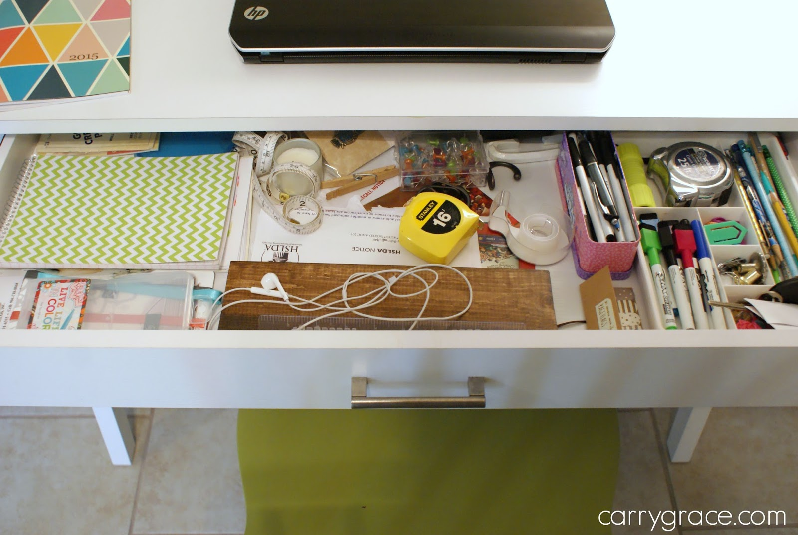 Carry Grace: Organize It- Kitchen Junk Drawer & Desk Drawer