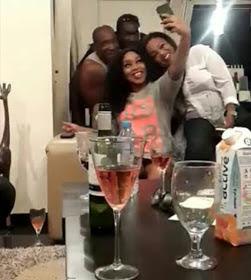 Photos: Nollywood actress Rita Dominic's 41st Birthday Party