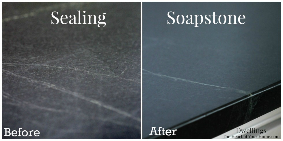 soapstone before and after sealing