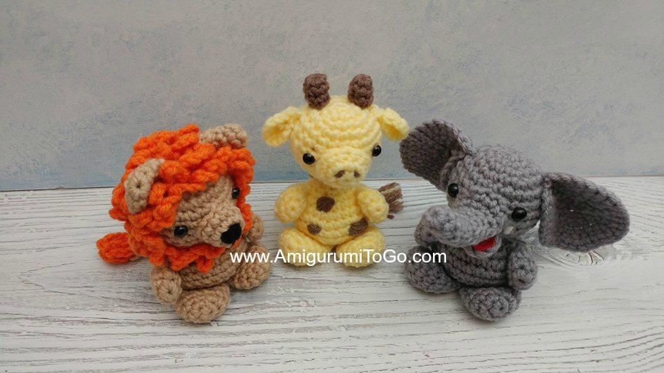 crochet elephant amigurumi - YouTube | 540x960