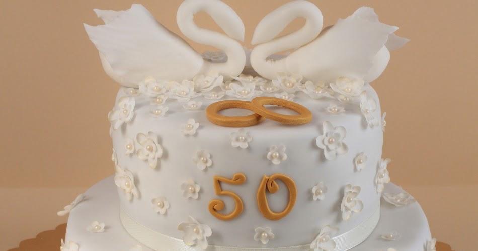 Hochzeitstorte Zum 50 Hochzeitstag Tortenschlaraffenland