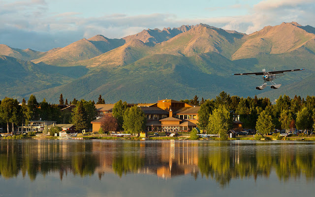 Book with usThe Lakefront Anchorage - A Millennium Hotel and experience the lakeside Alaskan bliss, conveniently located near the Ted Stevens Anchorage International Airport.
