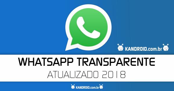 Download GB WhatsApp Transparente v6.40 (Resposta Automática) - Apk Atualizado 2018