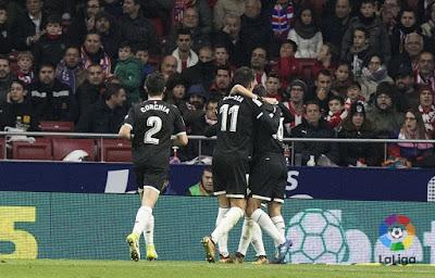 Crónica Atlético de Madrid 1 - Sevilla FC 2