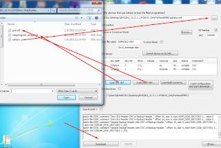 pilih menu Load XML def...  dan Load patch def..