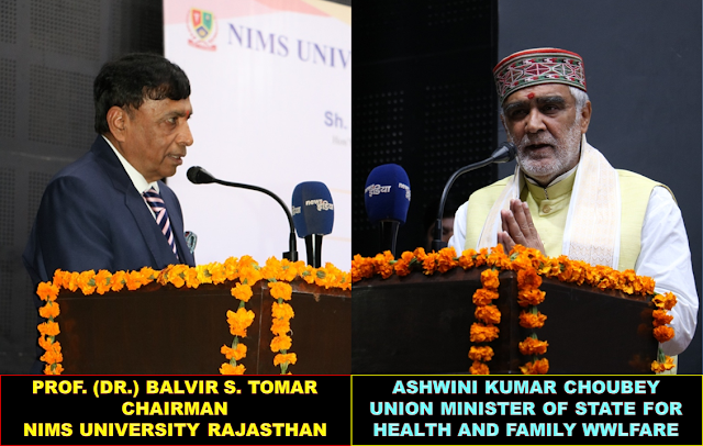 Ashwini Kumar Choubey and Prof. (Dr.) Balvir S. Tomar