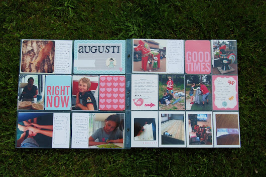 Project Life Augusti 2013
