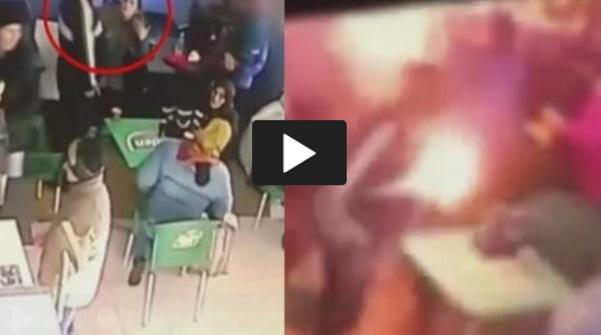 [VIDEO] Ngerii..Simbah Minyak Petrol Bakar Isteri Hidup-Hidup, Lelaki Gila Nekad Bunuh Isteri Depan Anak-Anak