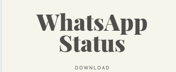WhatsApp Status, WhatsApp Status Video Download