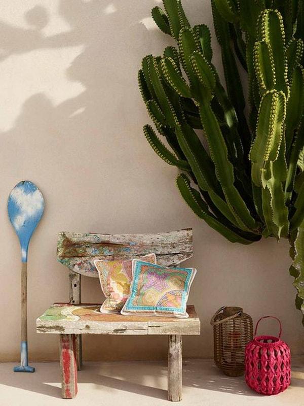 Original Ideas For Decorating Interiors With Cactus 4
