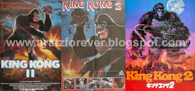 King Kong 2, Dino de Laurentiis, John Guillermin, King Kong lives