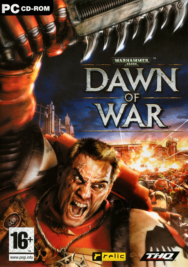 Warhammer 40000 Dawn of War Download Cover Free Game