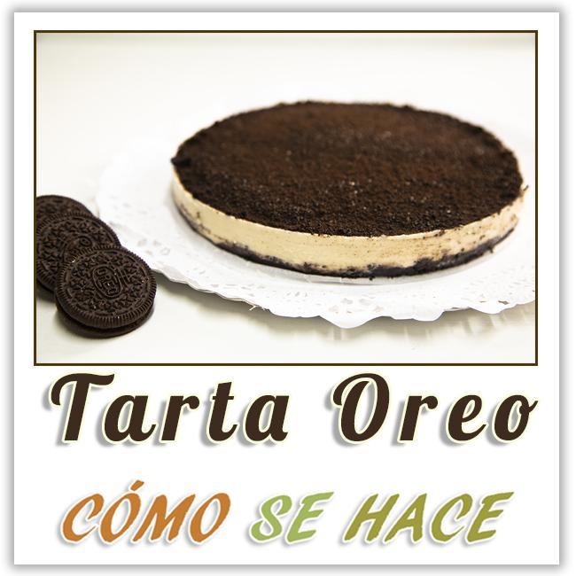 TARTA OREO SIN HORNO