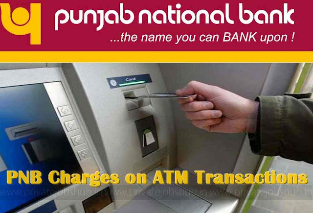 PNB Charges on ATM Transactions