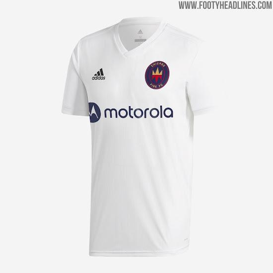 Boring Chicago Fire 2020 Away Kit Released Plain White T