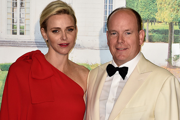 Princess Charlene and Prince Albert II held the Red Cross ball in the Principality of Monaco