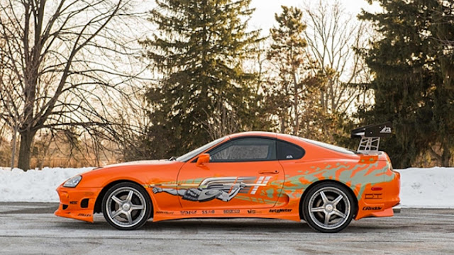 toyota supra fast and furious profile
