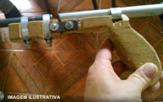 Palmital: Menores são apreendidos com arma de fogo de fabricação caseira