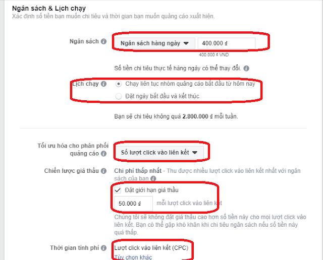Tối Ưu Hóa Trong Quảng Cáo Facebook (Optimising) 7