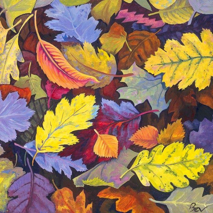 Яркие цвета. Bev Jones