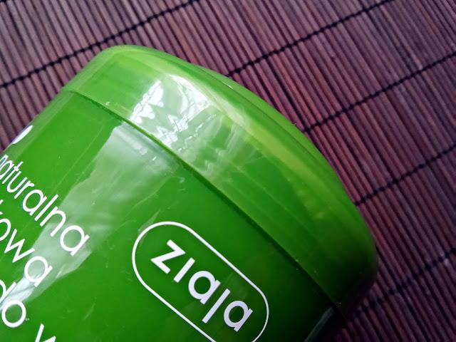 Ziaja - Naturalna, oliwkowa maska regenerująca do włosów, zamknięcie opakowania