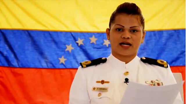 Pronunciamiento de Militar Activo-en contra de la dictadura de Nicolas Maduro