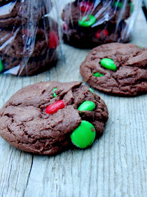 double chocolate christmas cookies (sweetandsavoryfood.com)