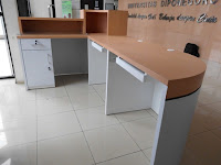 Meja CS - Meja Customer Service - Front Desk - Meja Kasir