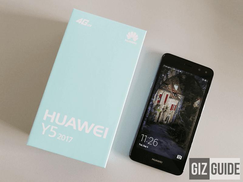 Raffle: Huawei Y5 2017 (GIZGUIDE Turns 2)