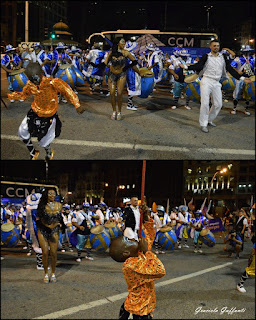 Desfile Inaugural del Carnaval. Uruguay. 2017 Comparsa Sarabanda
