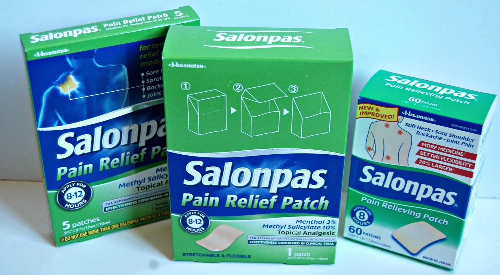 for Salonpas lidocaine 4 patch