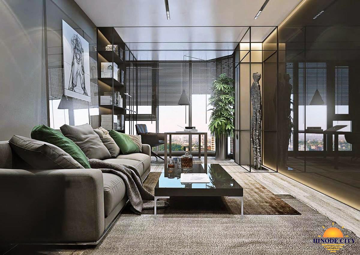 Phòng khách chung cư Hinode City