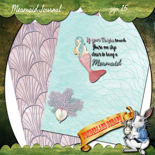 Already Saturday?  And a Mermaid Journal freebie
