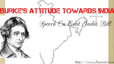 """Edmond Burke's speech on the """"East India Bill""""  deals with the British colonial rule over India. He was deeply moved by the sufferings of Indians under the rule of East India company. Buke calls for Reform in the British Eastern administration. He thinks that the reform should be made for the sake of humanity, Justice, and principles of true policy. In the speech Burke has presented India in graphic details including its history, geography, territorial vastness, culture, ethnicity etc.    India is a great empire. It is geographicall very important. In the northern part of it is a solid mass of land , about eight hundred miles in length, and four or five hundred miles broad. Towards the southward, it becomes narrower. It afterwards dilated. Bangal, Bihar , and Orissa, with Benares measure 161,978 square miles; it is a territory considerably lerger than the whole kingdom of France. Oude, with its dependent provinces, is 53,286 square miles , not a great deal less than England. The Carnatic, with Tanjour and the Circars, is 65, 948 square miles; it is considerably lerger than England. Thus, India is a vast territory strictly ruled by the East India company.    India has vast population. The population of this great empire is not easy to calculated. The population of India is not at much less than thirty millions, more than the four times the number of persons in the island of Great Britain. The do not consist of an abject and Barbaraous populace. They are much  less of gangs of Savages, like the Guaranies and Chiquitos  , who wandered on the waste Borders of the river Amazons, or the Plate . But they are civilized and cultivate people by all the arts of polished life.  In India , there  have been princes once of Great Dignity, authority , and opulence. There are the chief of tribes and nations.    To emphasise the importance of India, Burke compares it with the empire of Germany and with the Austrian dominions. He compares the Nowab of Oude with the King of Prussia and"""